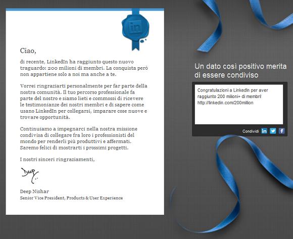 LinkedIn200mio