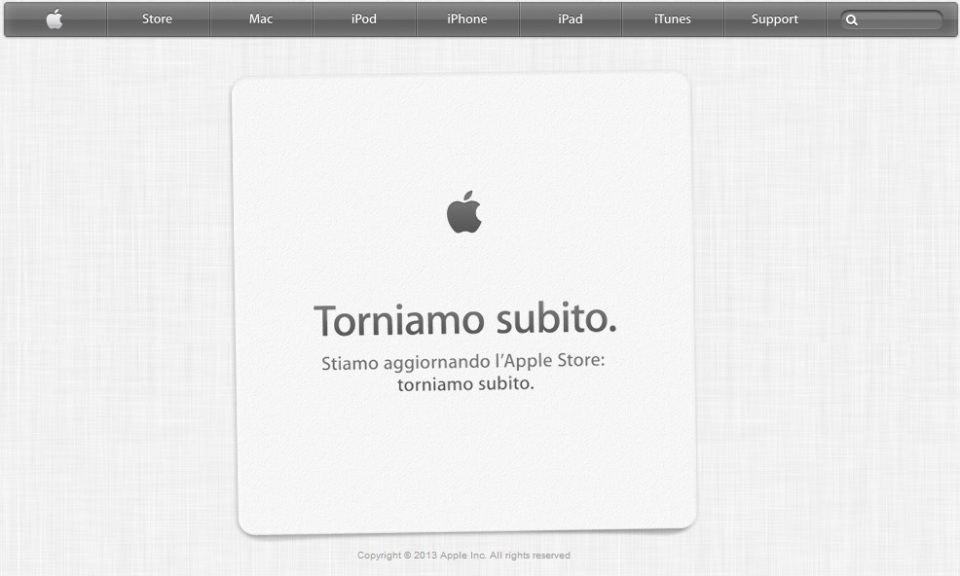 AppleInAllestimento