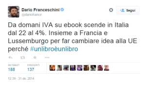 tweet ebook franceschini