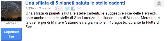 2016Stelle Cadenti